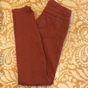 Burnt Orange Jeans